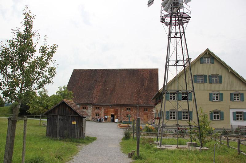 Eingang zum Bauernhaus Museum Wolfegg