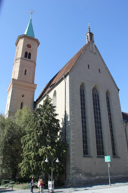 Evangelische Stadtkirche Ravensburg Langhaus