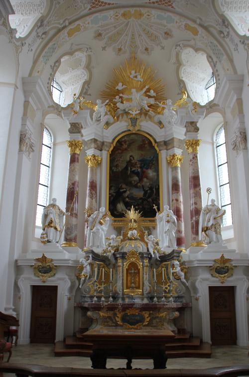 Altar St Markus Sießen
