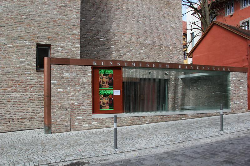 Kunstmuseum Ravensburg Eingang