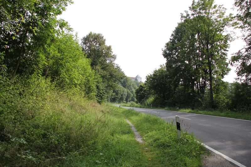 Straße-nach-Wolfegg
