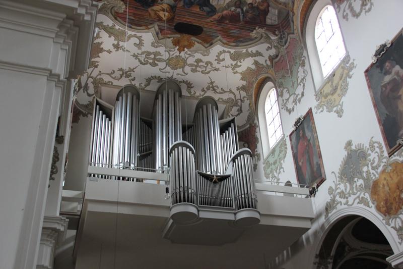 Orgel Kirche Biberach