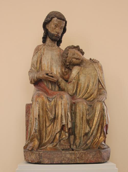 1 Apostel Johannes an Brust Christi