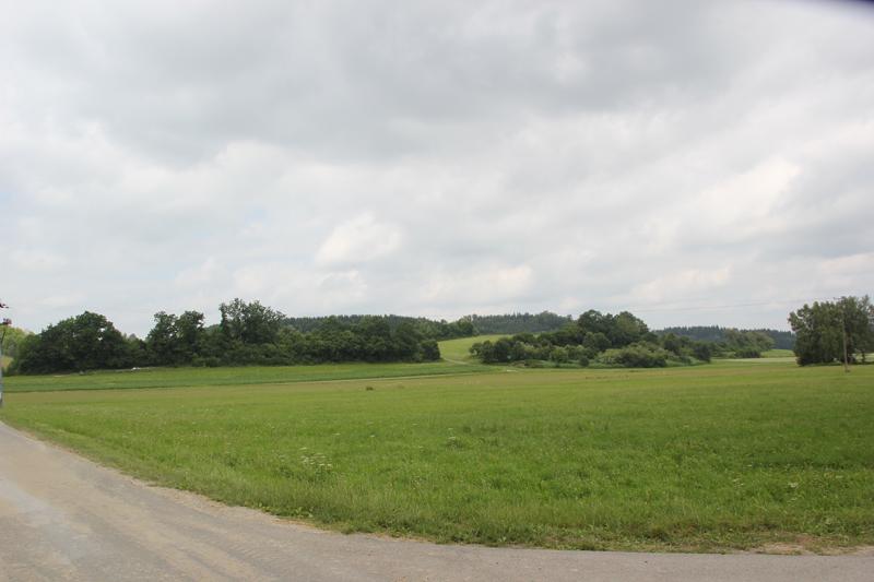 Landschaft entlang Ostrach