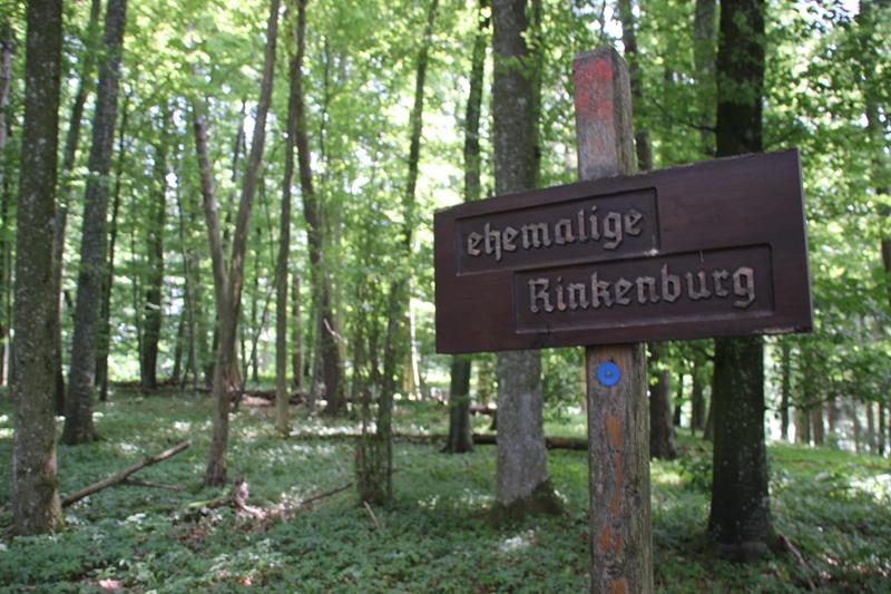 Schild Rinkenburg Wilhelmsdorf