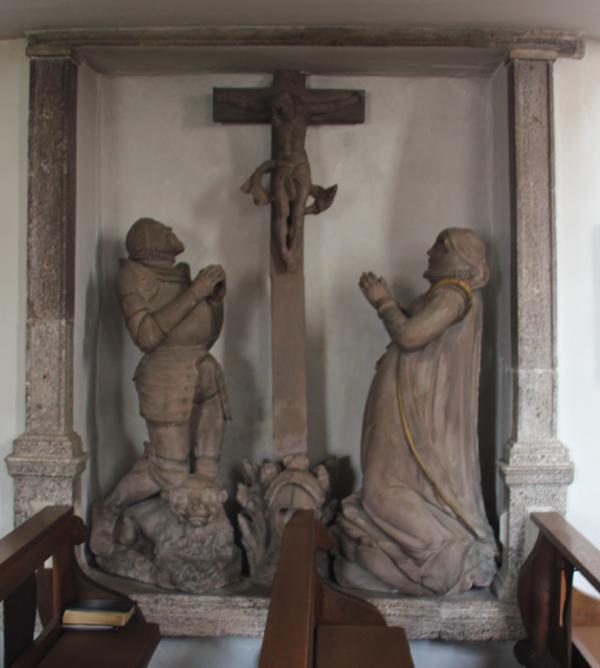 Jesus am Kreuz St Michael Zwiefaltendorf