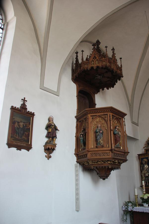 Kanzel St Michael Zwiefaltendorf