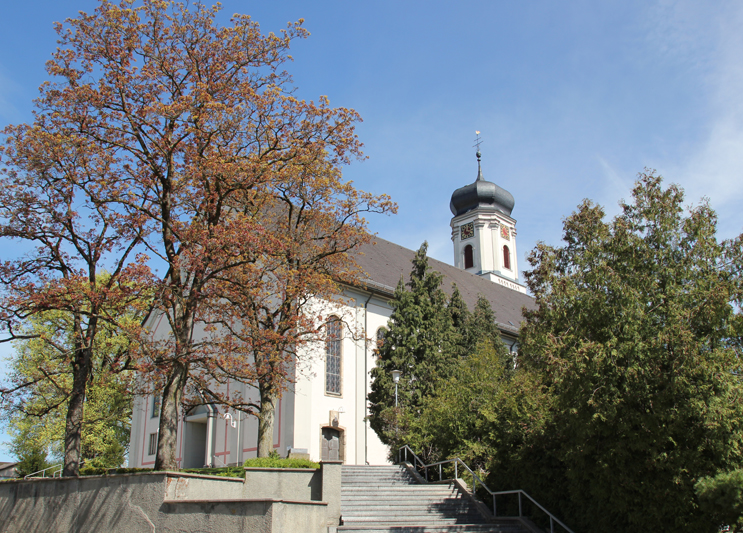 Kirche St Gallus Tettnang