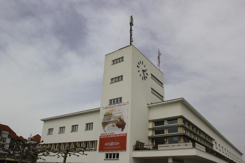 Gebauede Zeppelin Museum