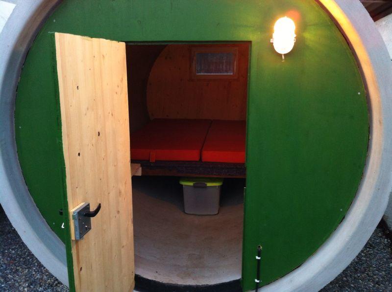 Zimmer im Rohrhotel Fleischwangen