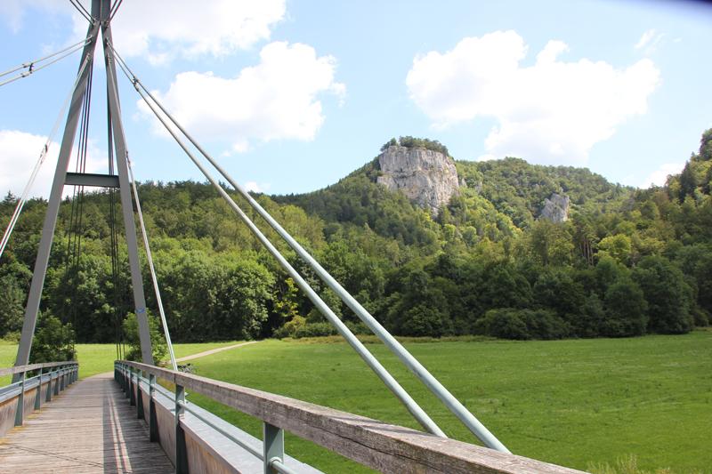 21 Fahrradbrücke Donau-Radweg