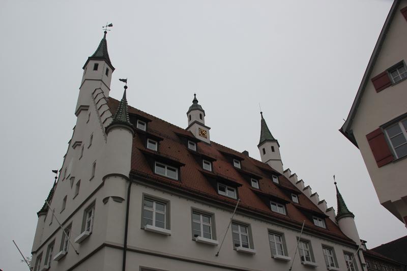 Dach Neues Rathaus Biberach
