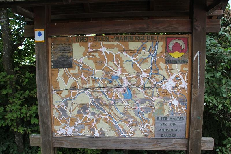 Drei-Seen-Weg Illmensee