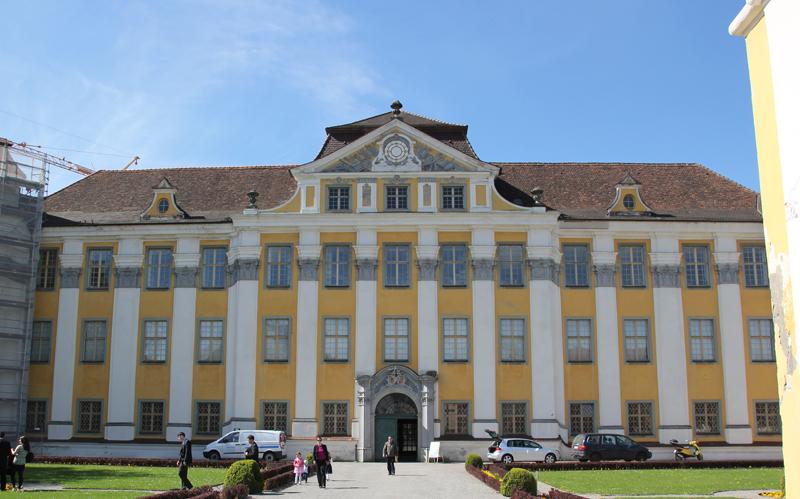 Eingang Neues Schloss Tettnang